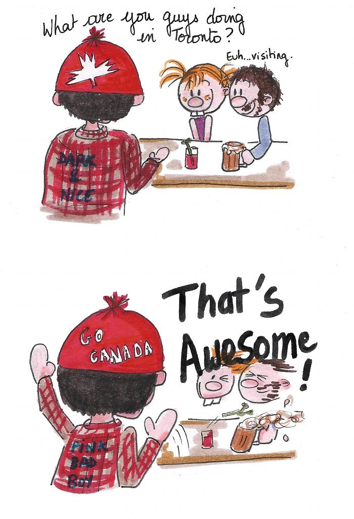 enthousiasme canadien